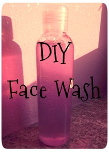 DIY Face Wash - Recipe