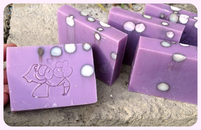 Violet Soap 2