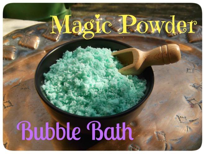 Magic Powder Bubble Bath 1