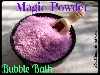 Magic Powder Bubble Bath 2