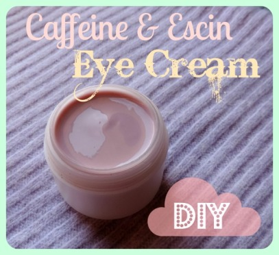 Escin and Caffeine Eye Cream