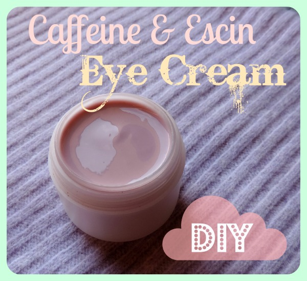 Escin and Caffeine Eye Cream