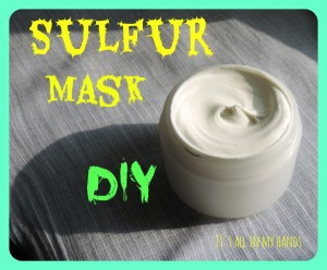 Sulfur Mask DIY