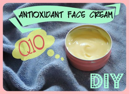 Q10 Antioxidant Face Cream DIY